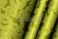 Link toBeautiful curtains pattern vector