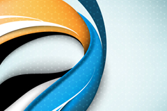 Link toBeautiful dynamic wave background vector