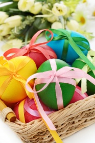 Link toBeautiful easter egg picture material download