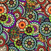Link toBeautiful ethnic style seamless patterns vector set 04 free