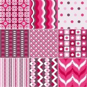 Link toBeautiful fabric patterns vector 02
