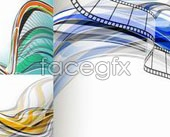 Link toBeautiful fashion mobile line background vector