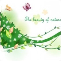 Link toBeautiful female flower vector illustrations
