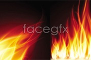 Link toBeautiful flames vector