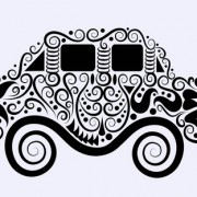 Link toBeautiful floral car design graphics 09 free