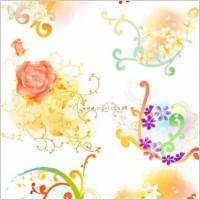 Link toBeautiful floral pattern vector series series 1 10p