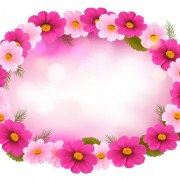 Link toBeautiful flower frame vector graphics 02 free