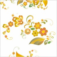 Link toBeautiful flower pattern vector