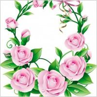 Link toBeautiful flowers 05 vector