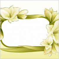 Link toBeautiful flowers and lace 04 vector
