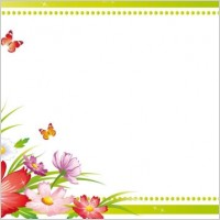 Link toBeautiful flowers and lace 05 vector