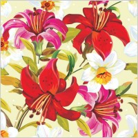 Link toBeautiful flowers and patterns 03 vector