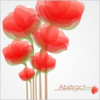 Link toBeautiful flowers illustration background pattern 05 vector