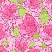 Link toBeautiful flowers seamless pattern art vector 02 free