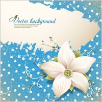 Link toBeautiful flowers shading background 03 vector