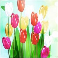 Link toBeautiful flowers vector 4