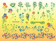Link toBeautiful flowers vector illustrations free