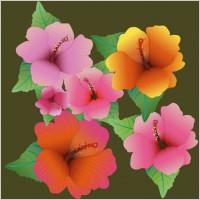 Link toBeautiful flowers vector