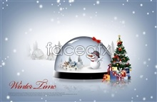 Link toBeautiful gifts of christmas psd