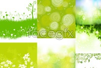 Link toBeautiful green background theme vector