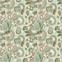 Link toBeautiful handpainted pattern vector 4