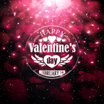Beautiful heart shaped backgrounds vector