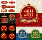 Link toBeautiful holiday coat of arms vector