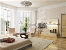 Beautiful home interior 1 psd