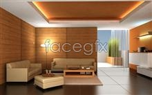 Beautiful home interior 5 psd