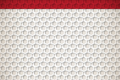 Beautiful honeycomb-shaped background vector