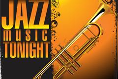 Link toBeautiful jazz poster design vector
