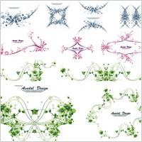 Link toBeautiful lace pattern vector