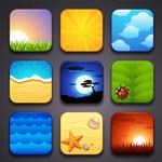 Link toBeautiful landscape icon