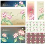 Link toBeautiful lotus flower banner vector