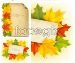 Link toBeautiful maple leaf chinese restaurant border vector