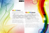 Link toBeautiful motion vector background
