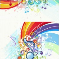 Link toBeautiful music pattern background 02 vector