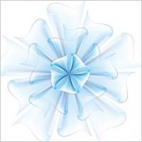 Link toBeautiful paper flowers 03 vector
