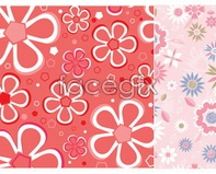 Link tovector pattern cute heart background pattern Beautiful