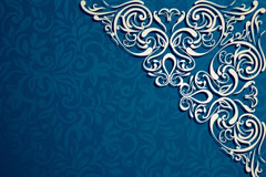 Link toBeautiful pattern blue background vector