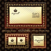 Link toBeautiful patterned frame vector