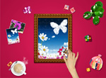 Link toBeautiful photo frame photo psd