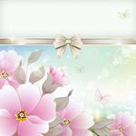Link toBeautiful pink flower vector