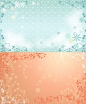 Link toBeautiful plant background pattern vector