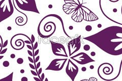 Link toBeautiful purple adjustable butterfly flower background vector