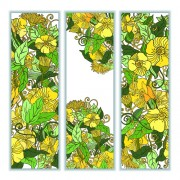 Link toBeautiful sketch floral vector banners 02 free
