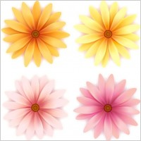 Link toBeautiful small flowers vector 3