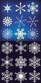 Link toBeautiful snow template vector