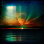 Link toBeautiful sunset background vector