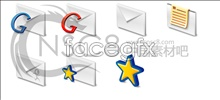 Beautiful theme gmail icon